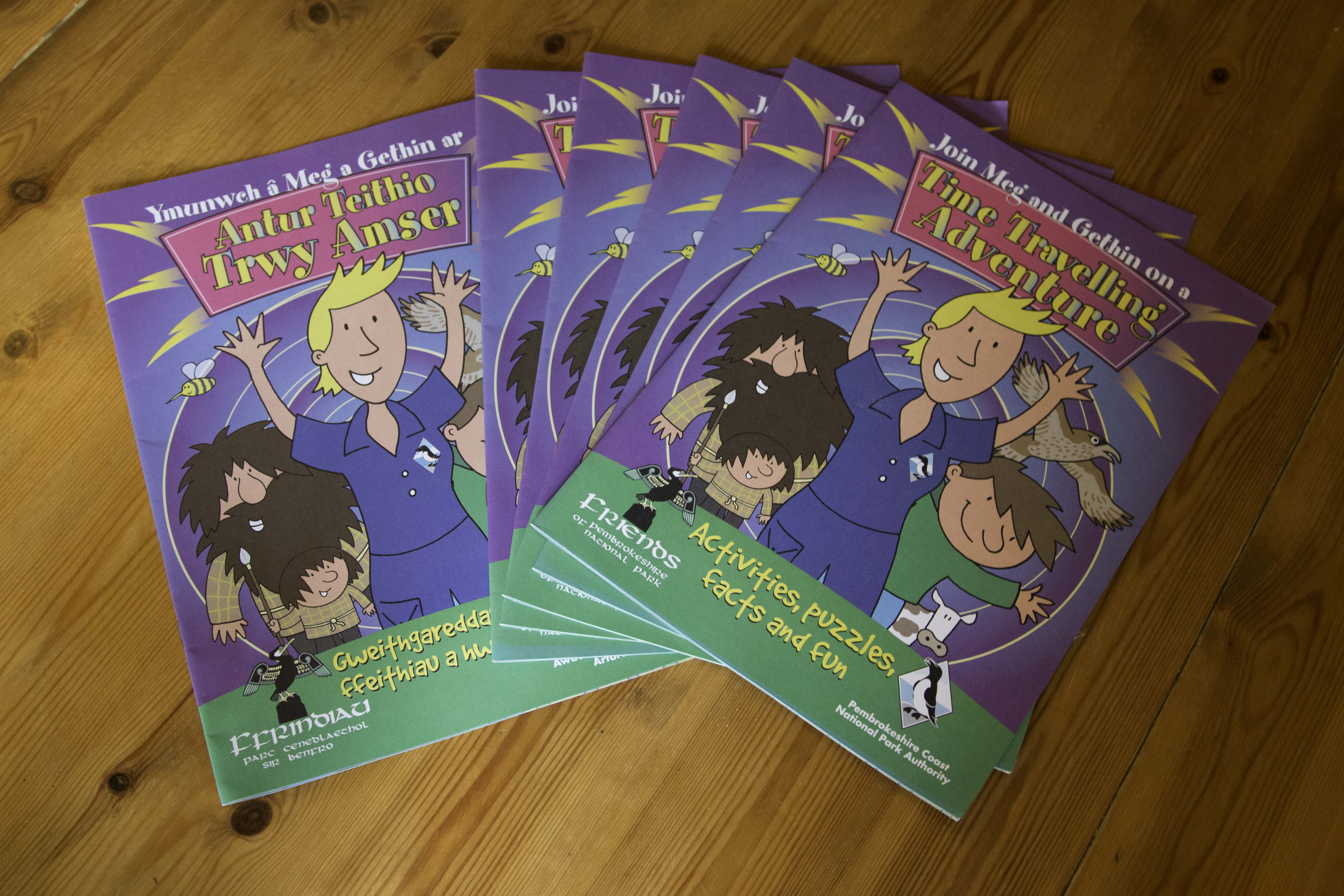 image of friends 'Meg and Gethin' booklets
