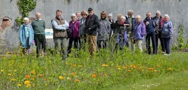 FPCNP Event - Group smiling at the camera - pembrokeshire coast national park