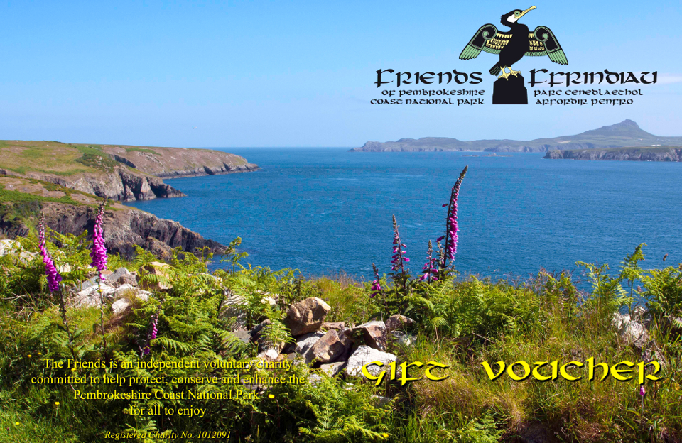 Friends of Pembrokeshire Coast National Park Gift Voucher